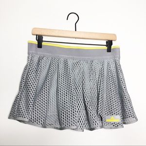 Stella McCartney Adidas Grey Mesh Skort